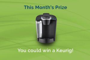 Win a Keurig!