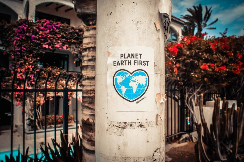 earth day 2021. planet earth first